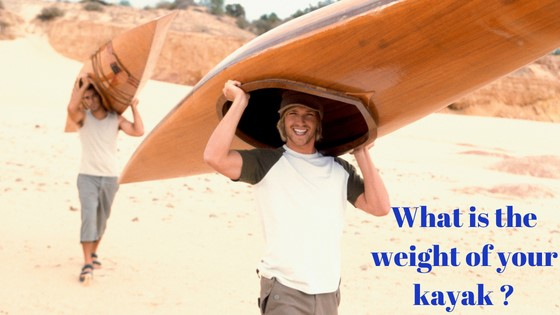 what is the weight of your kayak?