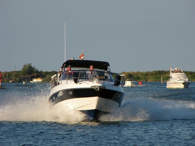 motor boat for fishing