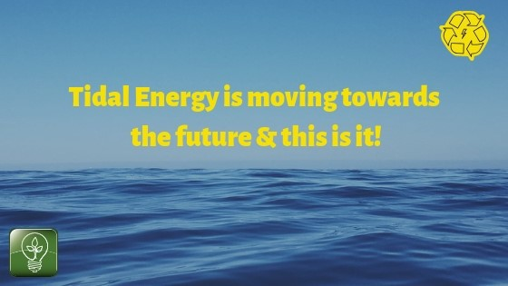 Tidal Energy is slowly moving towards the future & this is it!