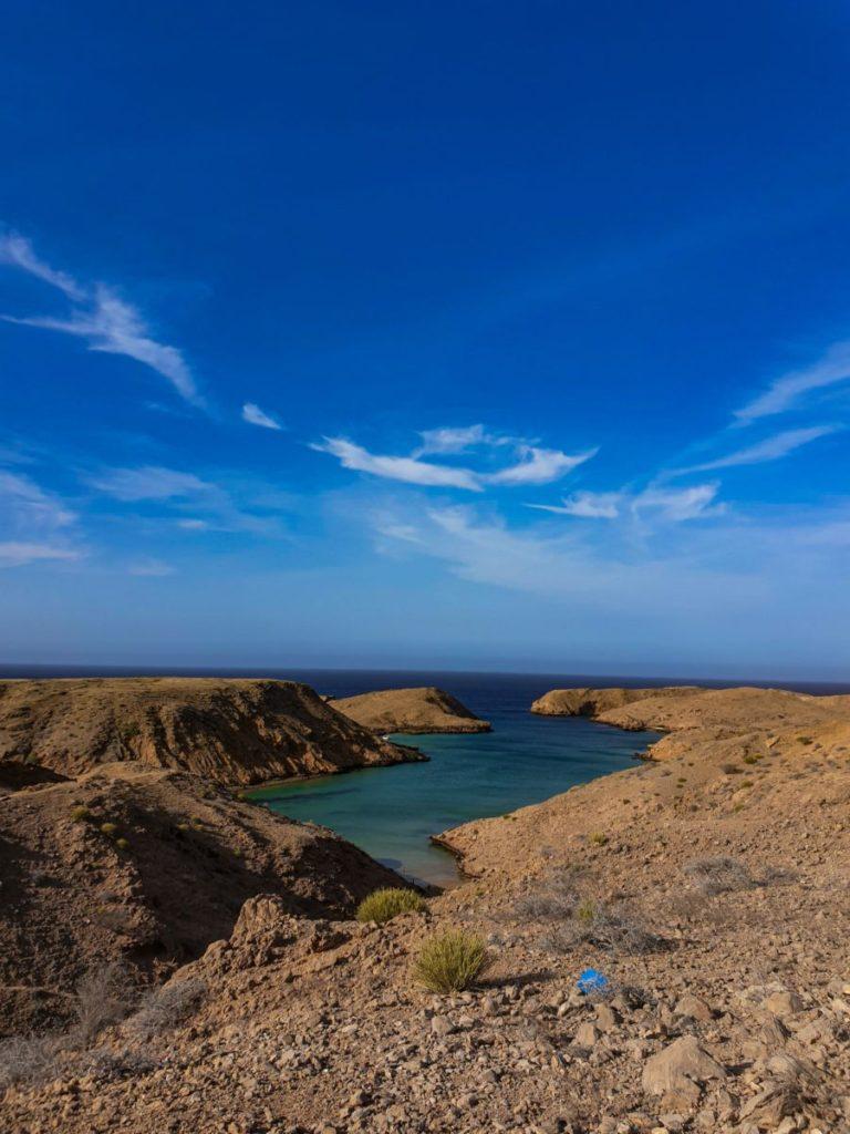 Oman's beautiful sea coast